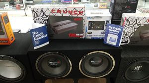 Soundstream Stereo with MB Quart Subwoofer System for Sale in Las Vegas, NV