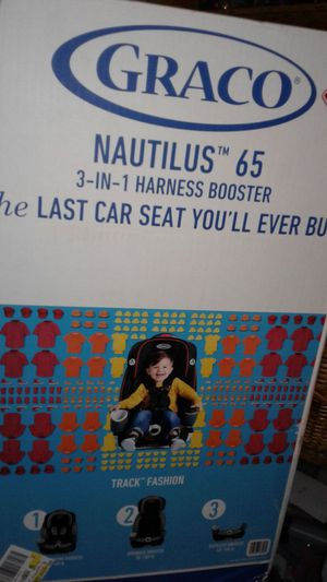 BRAND NEW CAR SEAT GRACO NAUTILUS 3- IN- 1 HARNESS convertable BOOSTER for Sale in Aurora, CO