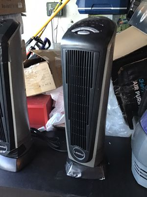 Lasko tower. 1500 watts tower heater excellent working condition open box never used $25 each for Sale in Las Vegas, NV