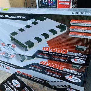 Power Acoustik 10,000 Monoblock Amplifier for Sale in San Bernardino, CA
