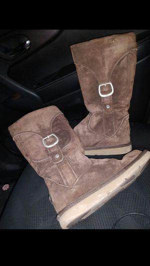 Uggs sheepskin women's boots size 9 for Sale in Salt Lake City, UT