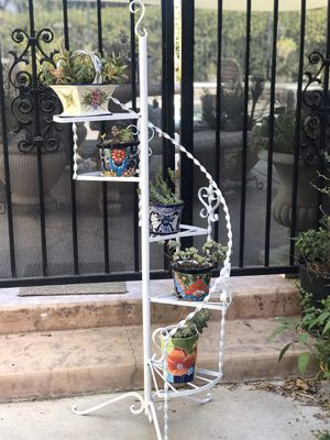 Beautiful Wrought iron 5 pot plant holder (pot plants NOT included) for Sale in Chino Hills, CA