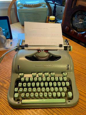 Hermès 3000 Typewriter. Excellent condition. No issues for Sale in Lake Stevens, WA