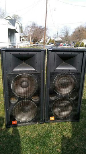 For sale) pair of jbl speakers.$1400 for Sale in Harrisonburg, VA