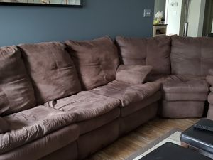 Used Sofa Sleeper with Matching center section for Sale in Garner, NC