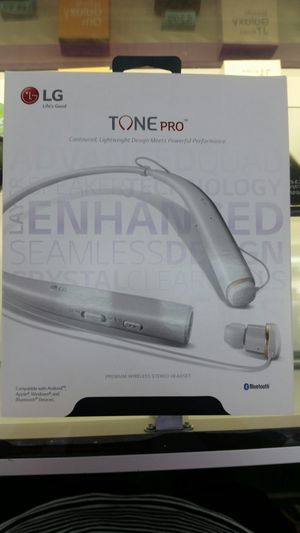 LG tone pro wireless headphone for Sale in Hoboken, NJ