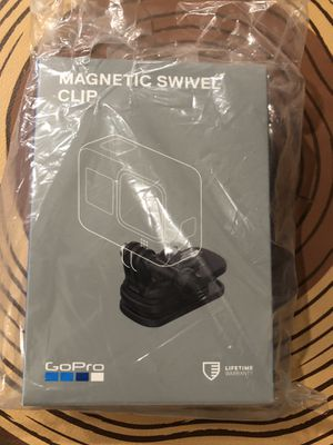 GoPro magnetic swivel clip for Sale in San Jose, CA