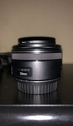 50mm 1.8 canon for Sale in Long Beach, CA