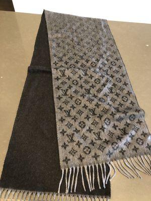 Louis Vuitton cashmere scarf for Sale in Dallas, TX