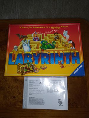 Board Game Labyrinth by Ravensburger for Sale in Raleigh, NC