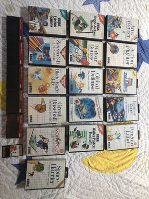 Sega Master System Lot for Sale in Williamsport, PA