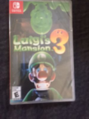 Luigi Mansion 3 Nintendo Switch for Sale in University City, MO