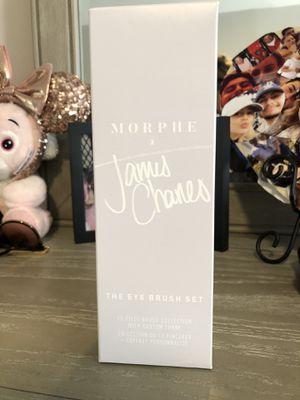 JAMES CHARLES EYE MAKEUP BRUSH SET NEW IN BOX for Sale in Bonita, CA