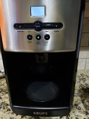 Krups 12 cup coffee maker for Sale in Richmond, TX