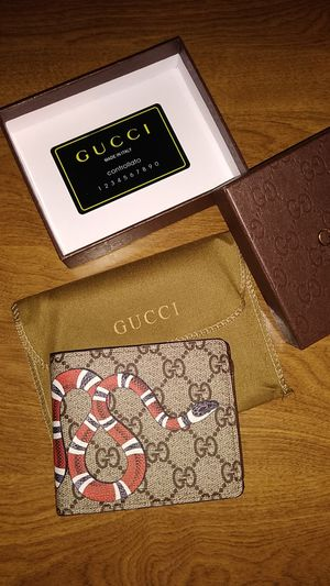 Gucci snake wallet for Sale in Westminster, CO