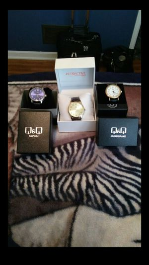 Brand new watches $10 a piece comes with boxes for Sale in Lancaster, OH