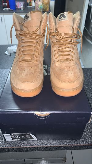 wheat air force 1 high flax air force 1 high size 11 for Sale in Miami, FL