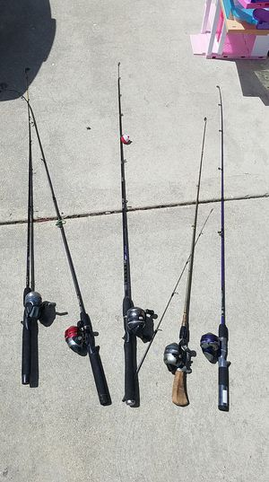 Fishing Rods and Reels (1 for $25 each or all five for $100) for Sale in Elk Grove Village, IL