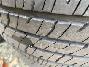 225/55/r16 wheels with tires less than 5000 miles for Sale in Hickory, NC