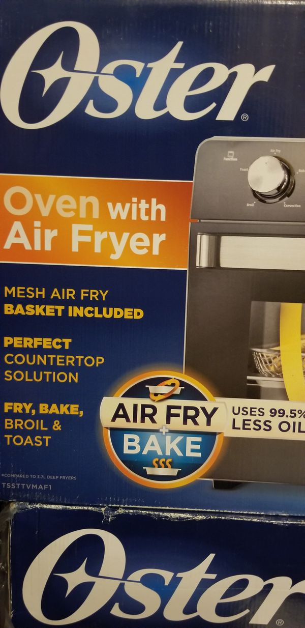Oster oven with air fryer