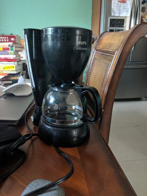 Black Krups CaféExpress 4 cup coffee maker for Sale in Miami Gardens, FL