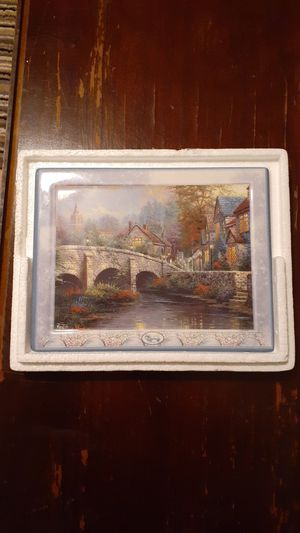 """Cobblestone Brooke"" Eighth issue in the Thomas Kinkade's Bridge of Life for Sale in Elmendorf, TX"