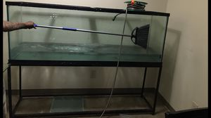 150 gallon fish tank and stand 700$O.B.O for Sale in Detroit, MI