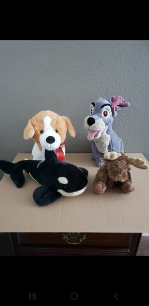 4 Stuffed Animals for Sale in Austin, TX