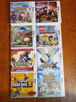 Nintendo 3DS games for Sale in Homestead, FL