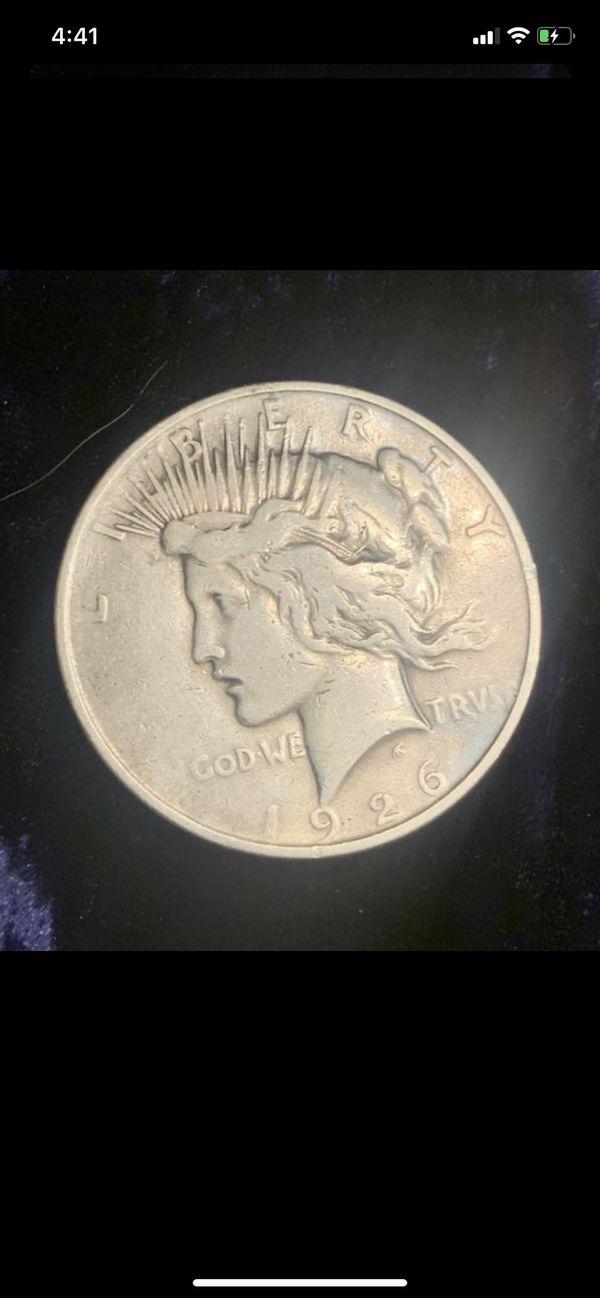1926-D VF Silver Peace Dollar