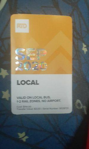 September 2020 Bus Pass for Sale in Denver, CO