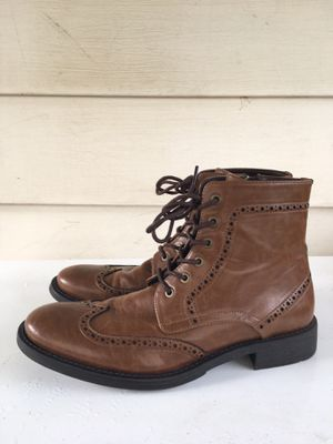 Men's Kenneth Cole Leather dress Boots - Size 9 for Sale in Rockville, MD