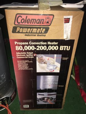Coleman propane for Sale in Valley Center, CA