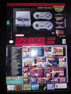 New SNES Classic Edition for Sale in San Angelo, TX