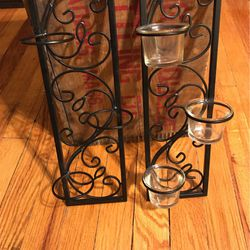 Pair Of Candle wall sconces for Sale in Adams,  MA