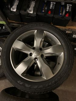 "Jeep wheels/tires 20"" for Sale in Fresno,  CA"