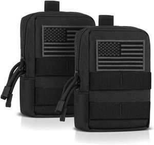 EDC Pouch Bag Molle Pouch Tactical Pouch Molle Attachments Molle Cell Phone Case for Tactical Backpack for Sale in Pomona, CA
