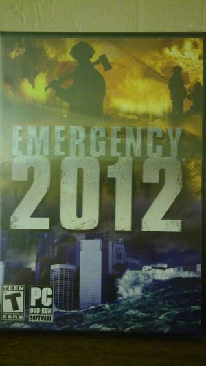 PC dvd-rom EMERGENCY 2012 GAME for Sale in Tampa, FL