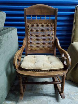 Antique Wooden Rocking Chair for Sale in Miramar, FL