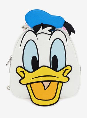 DISNEY LOUNGEFLY DONALD DUCK DAISY DUCK REVERSIBLE MINI BACKPACK for Sale in Montebello, CA