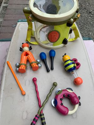 Kids musical toys B. Drums, maracas, and more for Sale in Vista, CA