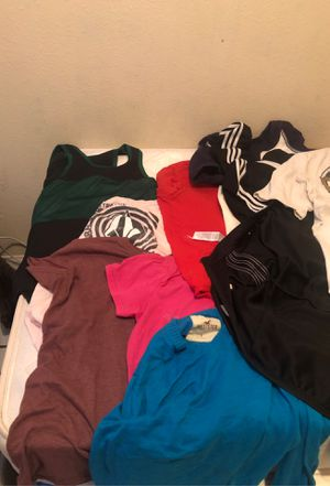All brand clothes used once for adult medium for Sale in El Centro, CA