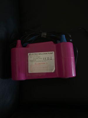 Electric balloon pump for Sale in Phoenix, AZ