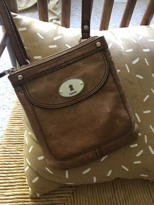 Fossil leather messenger bag for Sale in Columbus, OH