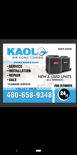 A/c ( air conditioning ) and plumbing ( water heater ) replacement for Sale in Phoenix, AZ
