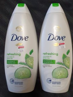 "Dove Refreshing ""Cucumber And Green Tea"" Body Wash (2 Available) for Sale in Castro Valley,  CA"