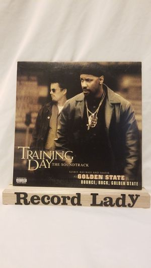 """Training Day Ft. XZIBIT, Ras Kass and Saffir """"Soundtrack"""" vinyl record for Sale in San Diego, CA"""