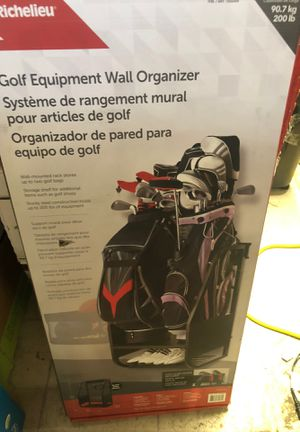 $47 new in box Golf wall Organizer for Sale in Riverside, CA