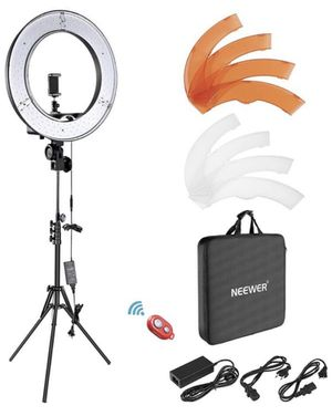 """Neewer Ring Light Kit:18""""/48cm Outer 55W 5500K Dimmable LED Ring Light, Light Stand, Carrying Bag for Camera,Smartphone,YouTube,Self-Portrait Shooting for Sale in Oakland Park, FL"""