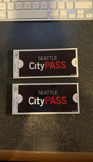 Seattle City Pass for Sale in Monroe, WA